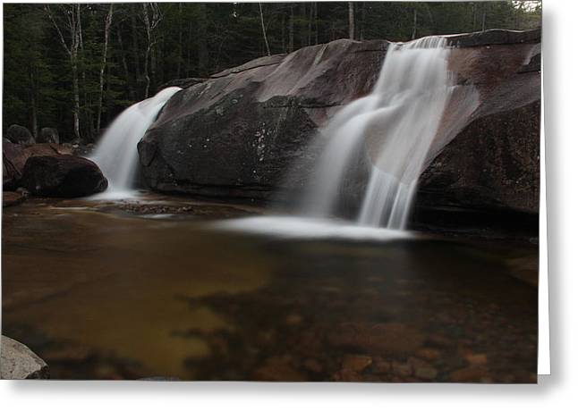 North Conway Greeting Cards - Dianas Bath Greeting Card by Andrea Galiffi