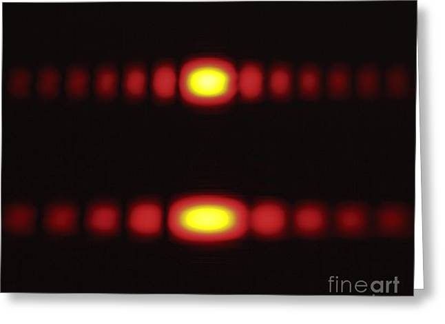 Diffraction On A Slit Greeting Card by GIPhotoStock