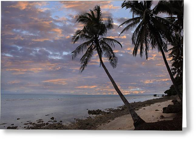 Tim Fitzharris Greeting Cards - Dimiao Beach in Philippines Greeting Card by Tim Fitzharris