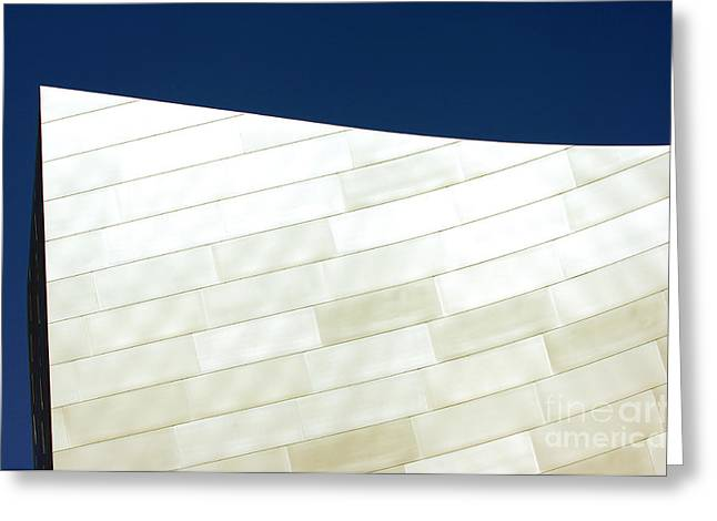Metal Sheet Photographs Greeting Cards - Disney Concert Hall 6 Greeting Card by Micah May