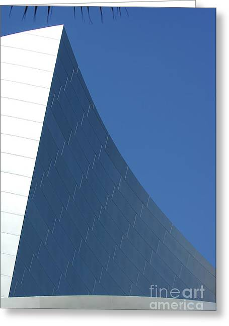Metal Sheet Photographs Greeting Cards - Disney Concert Hall 7 Greeting Card by Micah May