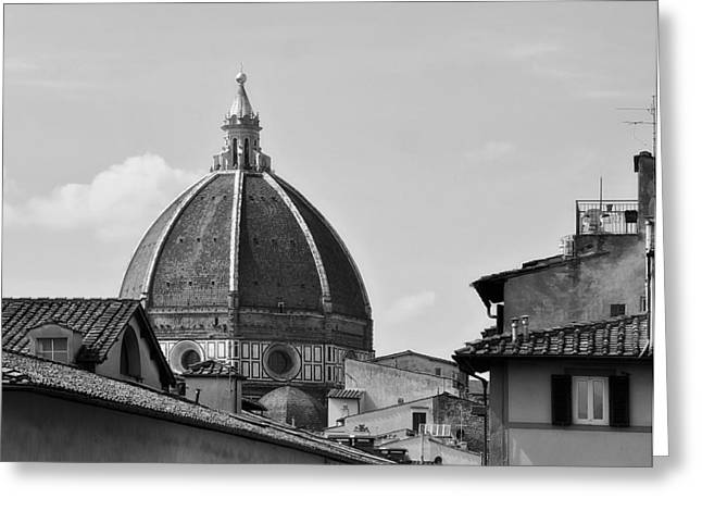 Florence Greeting Cards - Dome of the Florence Cathedral Greeting Card by Mountain Dreams