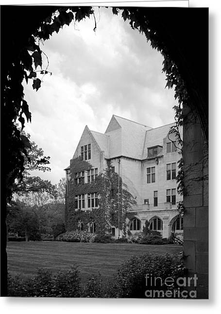 Catholic Art Greeting Cards - Dominican University Parmer Hall Greeting Card by University Icons