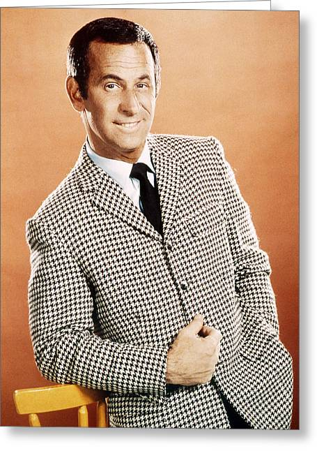Got Greeting Cards - Don Adams in Get Smart  Greeting Card by Silver Screen