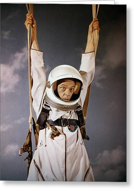 Don Knotts Greeting Cards - Don Knotts in The Reluctant Astronaut  Greeting Card by Silver Screen