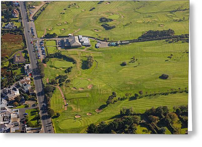 Tennis Club Greeting Cards - Donaghadee Golf Club, Donaghadee Greeting Card by Colin Bailie