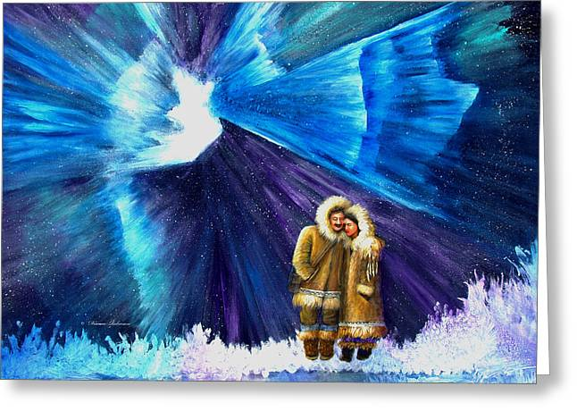 Alaskan Canvas Art Prints Greeting Cards - Dont Say Goodbye Greeting Card by Dianne Roberson