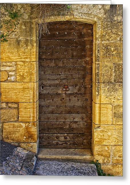 Entryway Greeting Cards - Doors of France Greeting Card by Mountain Dreams
