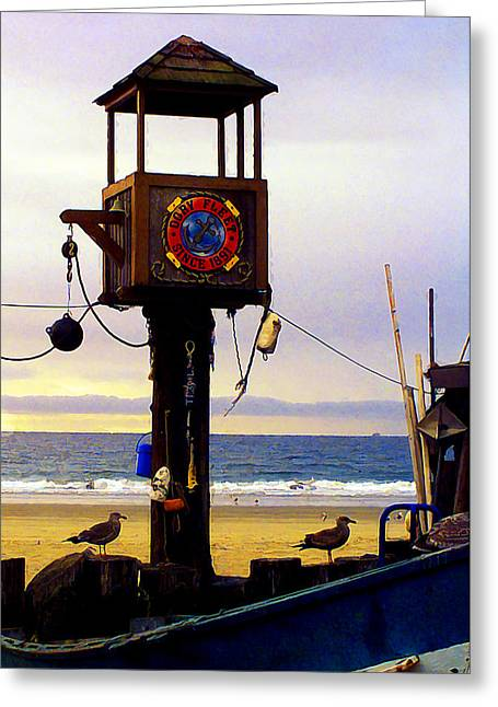 Red Snapper Greeting Cards - Dory Fleet Greeting Card by Ron Regalado