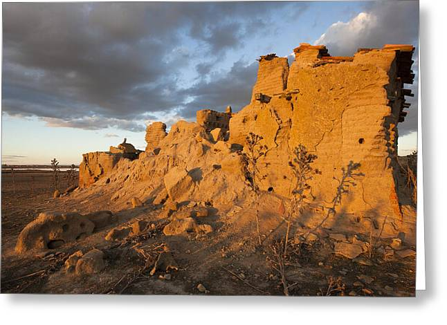 Dovecote Greeting Cards - Dovecote in ruins Greeting Card by Ruben Vicente