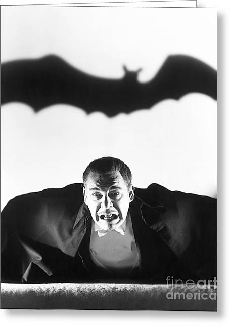 Movie Monsters Greeting Cards - Dracula Greeting Card by MMG Archive Prints