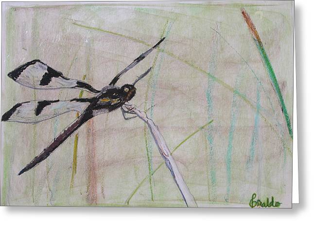 Dragonflies Pastels Greeting Cards - Dragonfly 1 Greeting Card by Giraldo Lee