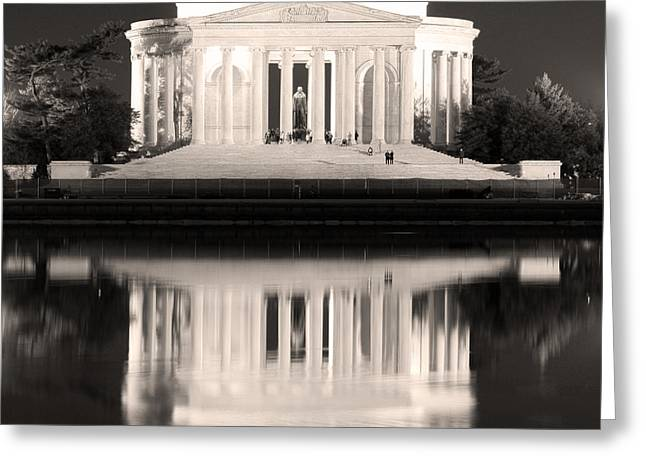 Jefferson Greeting Cards - Dream Greeting Card by Mitch Cat