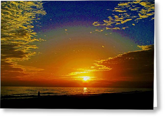 Dream Scape Photographs Greeting Cards - Dream Time Greeting Card by Russell Jenkins