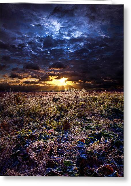 Geographic Greeting Cards - Dreaming Greeting Card by Phil Koch