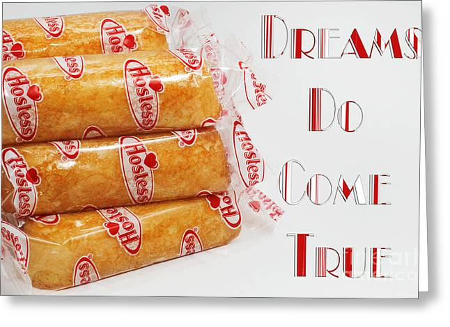 Hostess Greeting Cards - Dreams Do Come True Greeting Card by Andee Design