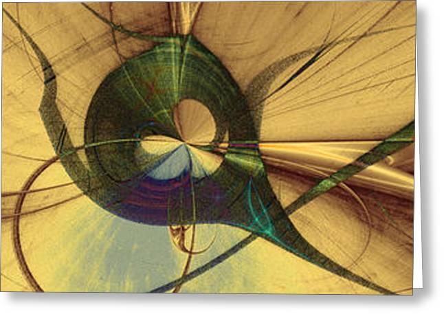 Horus Digital Art Greeting Cards - Dreams of Horus Greeting Card by David Jenkins