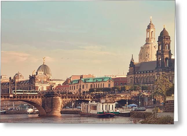 Dresden Greeting Card by Steffen Gierok