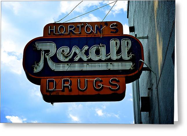 Drug Stores Greeting Cards - Drug Store Greeting Card by Brandon Addis