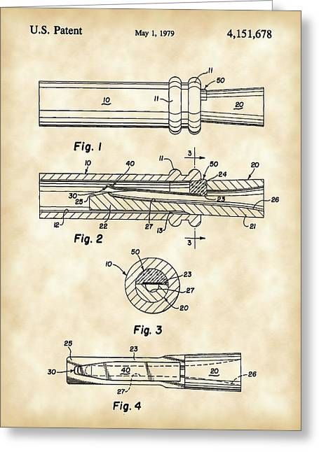 Millionaire. Greeting Cards - Duck Call Patent 1979 - Vintage Greeting Card by Stephen Younts