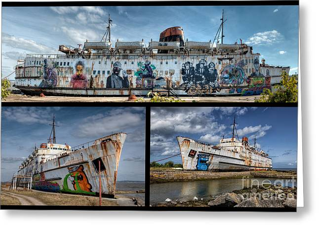 2012 Digital Art Greeting Cards - Duke of Lancaster Greeting Card by Adrian Evans