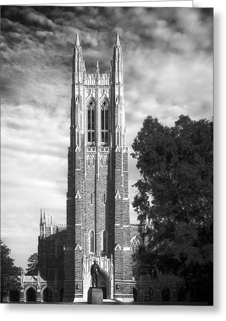 Duke University's Chapel Tower Greeting Card by Mountain Dreams