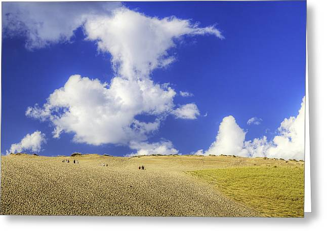 Dune Climb Greeting Card by Twenty Two North Photography