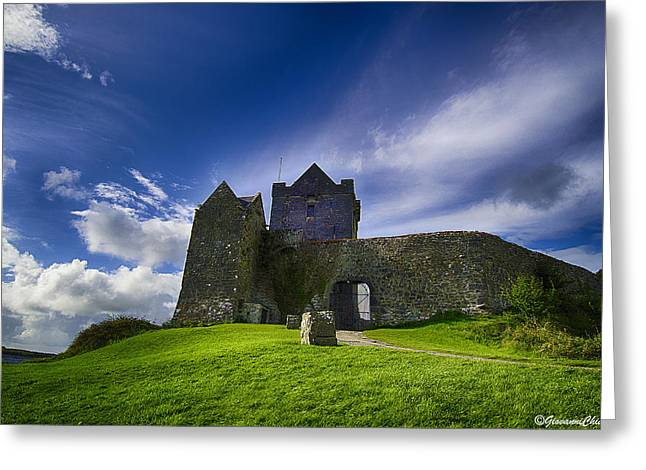 Hdr Landscape Greeting Cards - Dunguaire Castle Ireland Greeting Card by Giovanni Chianese