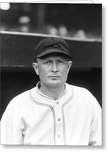 Pittsburgh Pirates Photographs Greeting Cards - Earl S. Smith Greeting Card by Retro Images Archive