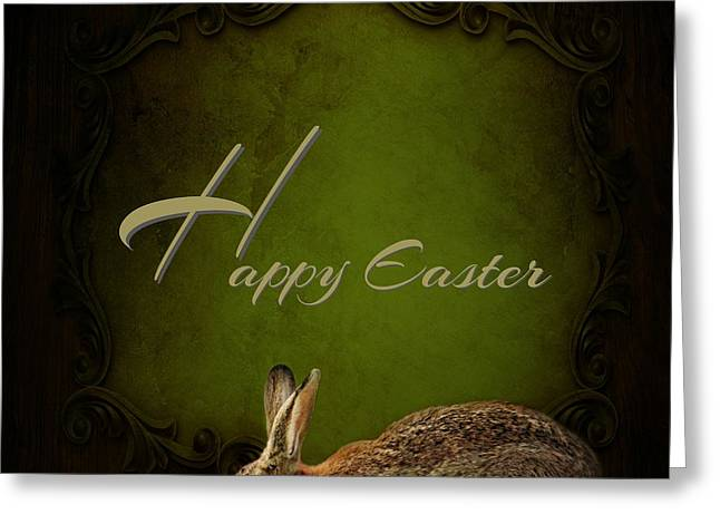 Easter Pictures Greeting Cards - Easter Bunny Greeting Card by Heike Hultsch