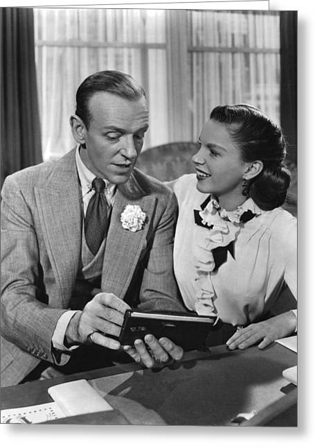 Astaire Greeting Cards - Easter Parade  Greeting Card by Silver Screen