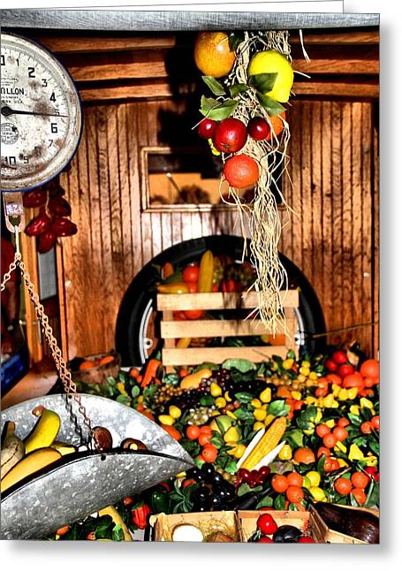 Fresh Produce Greeting Cards - Eat Healthy Greeting Card by Dan Sproul
