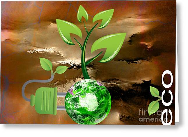 Eco Greeting Cards - Eco Friendly Greeting Card by Marvin Blaine