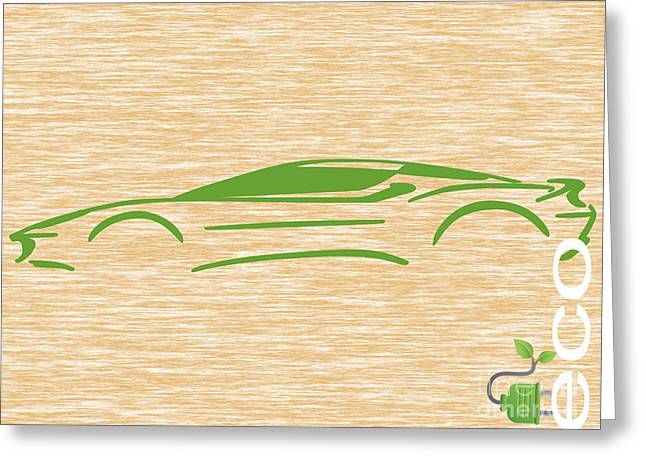Ev Greeting Cards - Eco Collection Greeting Card by Marvin Blaine