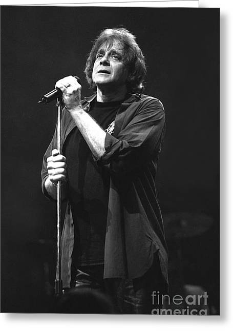 Pop Singer Greeting Cards - Eddie Money Greeting Card by Front Row  Photographs