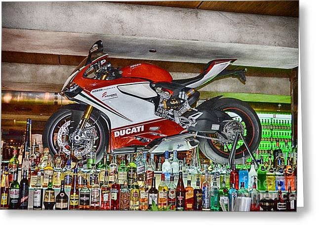 Superbikes Greeting Cards - Eden of the XY-Chromosome V6 Greeting Card by Douglas Barnard