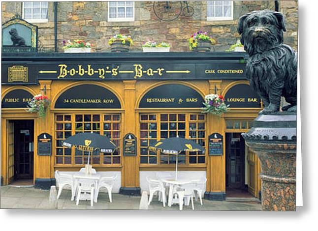 Entrance Door Greeting Cards - Edinburgh Scotland Greeting Card by Panoramic Images