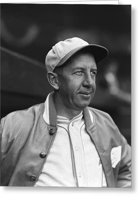 Player Greeting Cards - Edward T. Eddie Collins, Sr. Greeting Card by Retro Images Archive