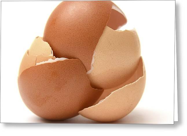 Eggshells Greeting Cards - Eggshell Greeting Card by Bernard Jaubert