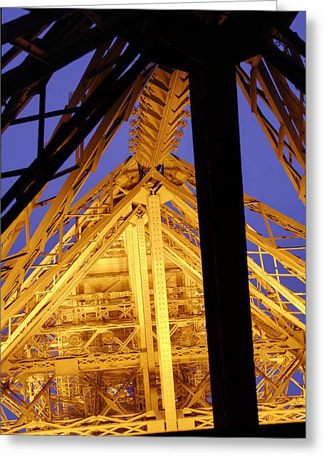 Eiffel Tower - Paris France - 011310 Greeting Card by DC Photographer