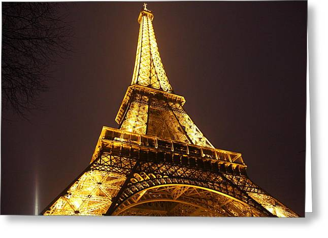 Eiffelturm Greeting Cards - Eiffel Tower - Paris France - 011315 Greeting Card by DC Photographer