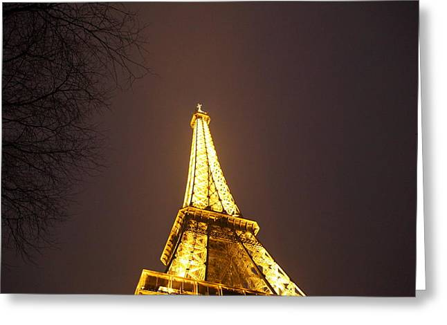 Eiffel Tower - Paris France - 011316 Greeting Card by DC Photographer