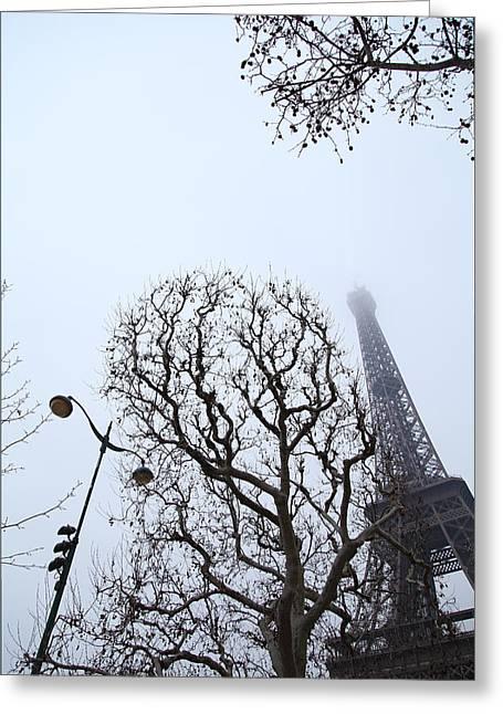 Eiffel Greeting Cards - Eiffel Tower - Paris France - 011317 Greeting Card by DC Photographer