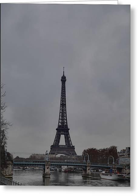 Eifel-turm Greeting Cards - Eiffel Tower - Paris France - 011320 Greeting Card by DC Photographer