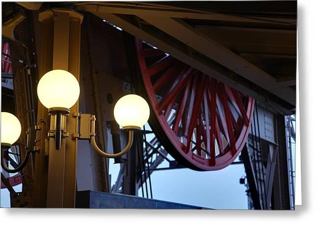Eifel-turm Greeting Cards - Eiffel Tower - Paris France - 01139 Greeting Card by DC Photographer