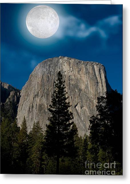 El Capitan, Yosemite Np Greeting Card by Mark Newman