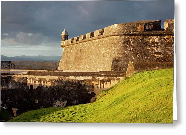 El Morro Fort In Old San Juan, Puerto Greeting Card by Brian Jannsen