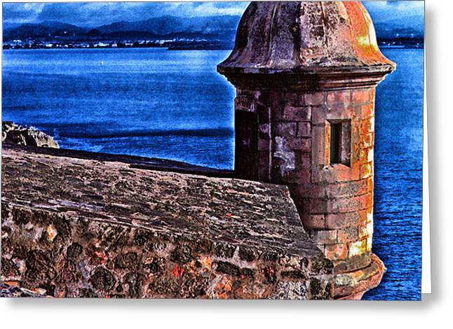 El Morro Fortress Greeting Card by Thomas R Fletcher