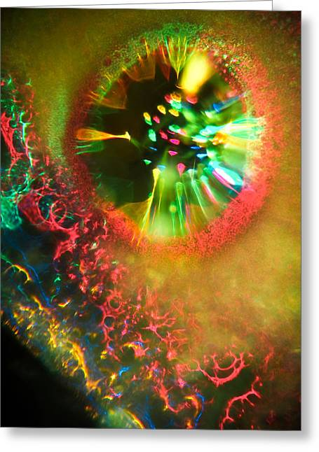 Dream Scape Photographs Greeting Cards - Electrified Greeting Card by Jason Moran