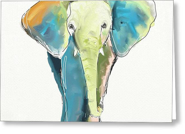 Children Greeting Cards - Ellie Greeting Card by Cathy Walters